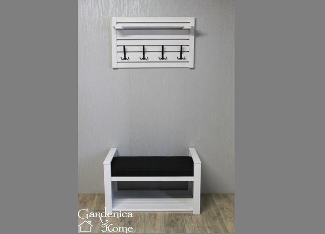 wieszak z półką ławka ławeczka siedzisko przedpokój