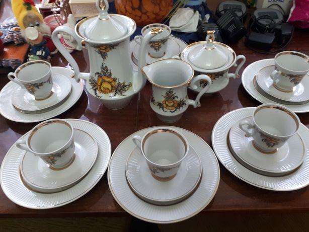 Кофейный сервиз СССР,винтаж,позолота