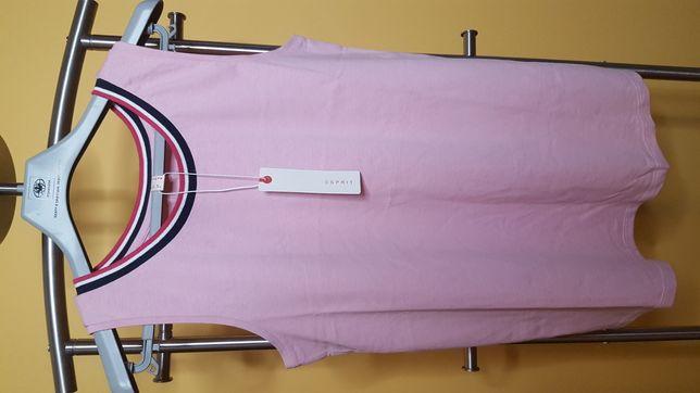 Bluzka bawełniana Esprit rozmiar S