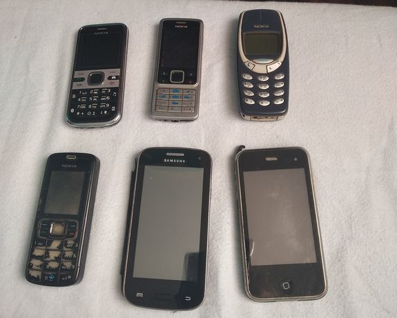 Мобільні телефони та аксесуари