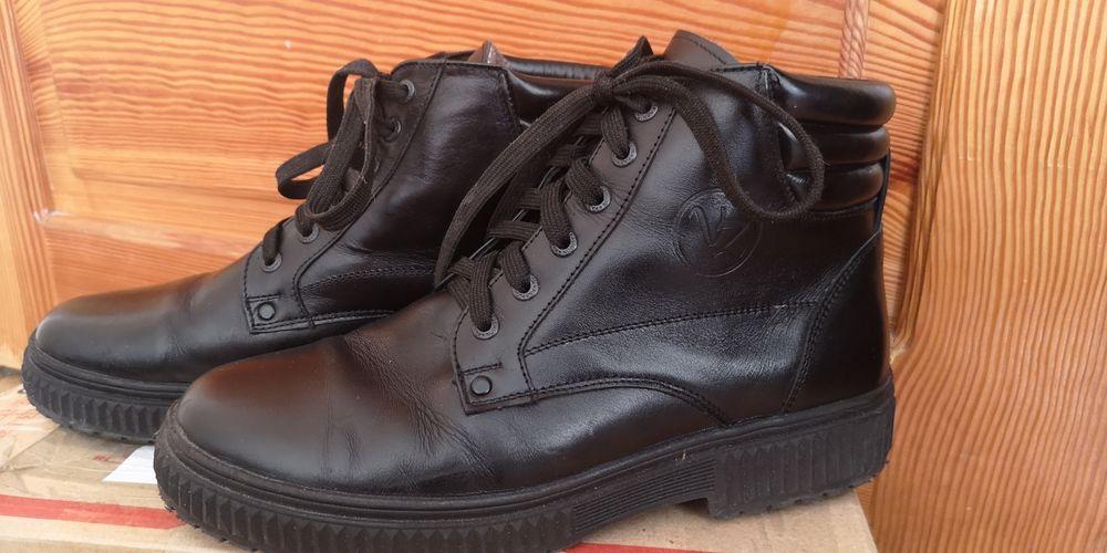 Чоловічі, зимові черевики/Кожаные мужские, зимние ботинки, сапоги Львов - изображение 1