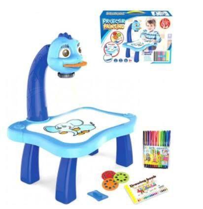 Детский проектор для рисования со столиком для девочек мальчиков