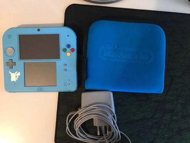 Nintendo 2ds com 1 jogo