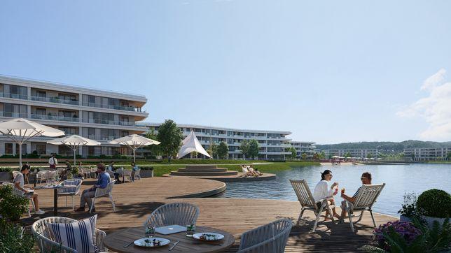 Новая 2-к квартира 75м2, в окружении леса и озера, ЖК Park Lake City