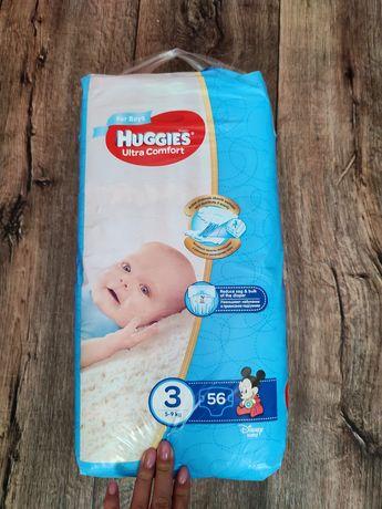 Подгузники памперсы Huggies Ultra Comfort 3 новые