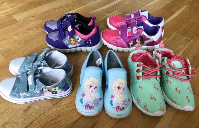 Кеди для дівчинки Frozen, кросівки, джинсові кеди, кроссовки, Disney