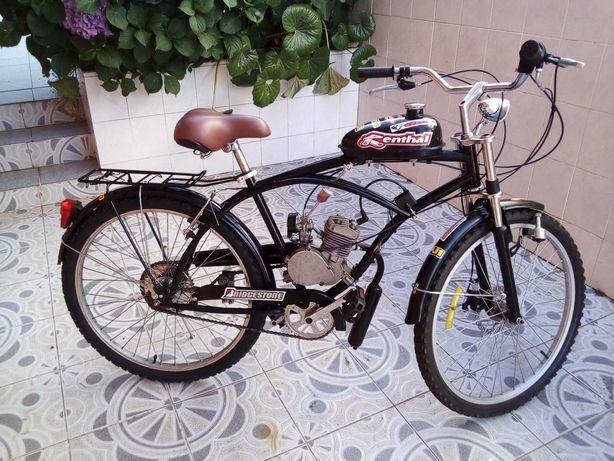 Bicicleta Bina com motor 80 cm3