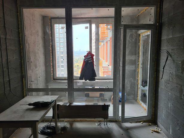 Оконный блок + балконная дверь