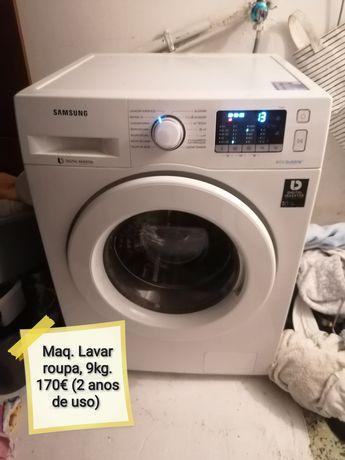 Máquina lavar Samsung 9kg