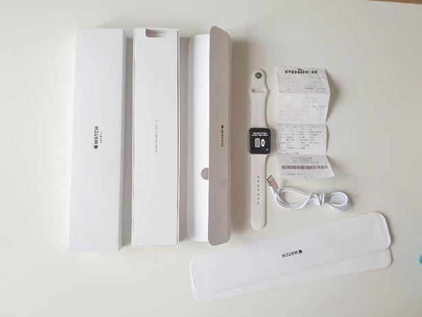 Apple Watch 3 42mm GPS Silver IDEALNY OKAZJA