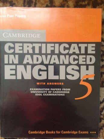 Cerificate in advance english