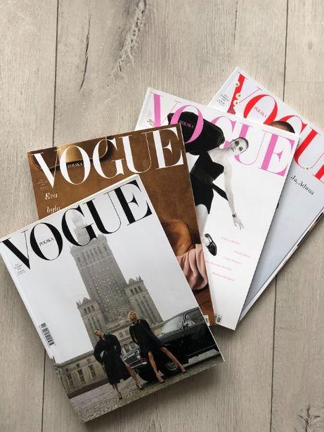 Vogue Polska nr 1, 2, 3, 4 (marzec - czerwiec 2018)