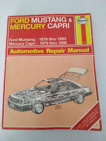 Instrukcja napraw Ford Mustang &Mercury Capri