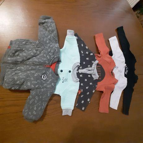 Bluzy niemowlęce 0-3 miesiąc