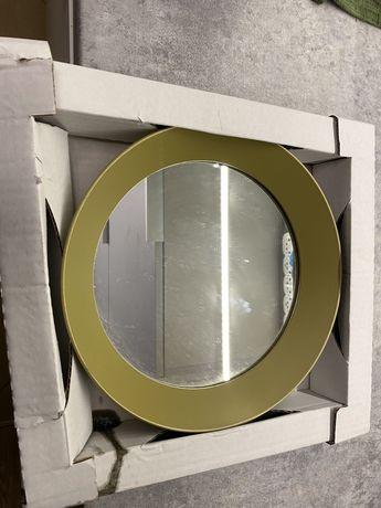 Sprzedam zlote lustro ikea langesund 25 cm nowe