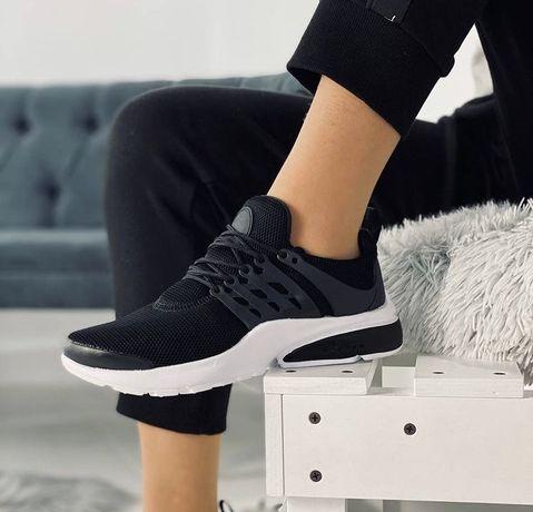 Распродажа Женские Кроссовки под Nike Air Presto (black/white) 36-41