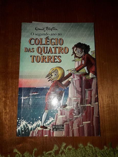 Livro segundo ano no Colégio das quatro torres