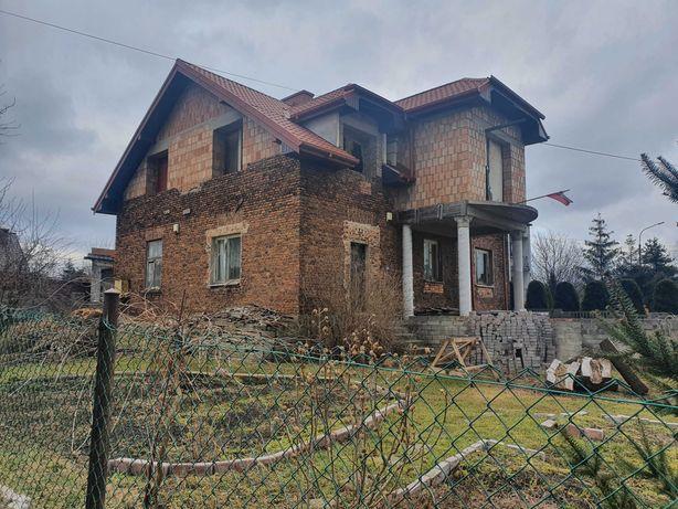 Duży dom do wykończenia (może być dwurodzinny) Poręba