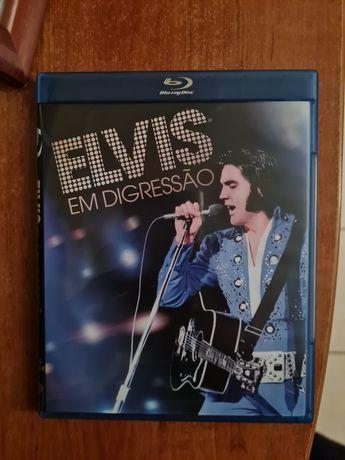 DVD em blu-ray de Elvis Presley