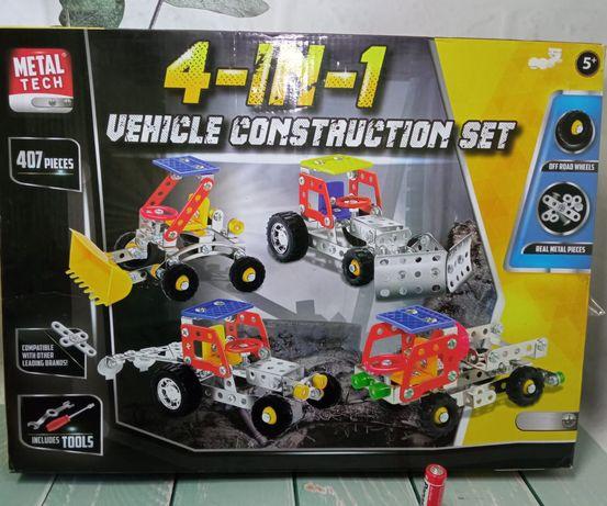 Металлический конструктор 4в1