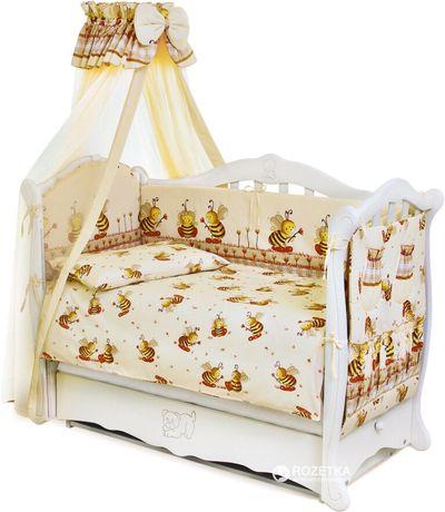 Захист, бортики,Комплект у дитяче ліжечко, постільний комплект дитячий