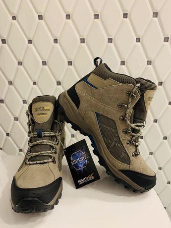 Nowe Męskie buty trekkingowe Clydebank beżowe rozm. 41