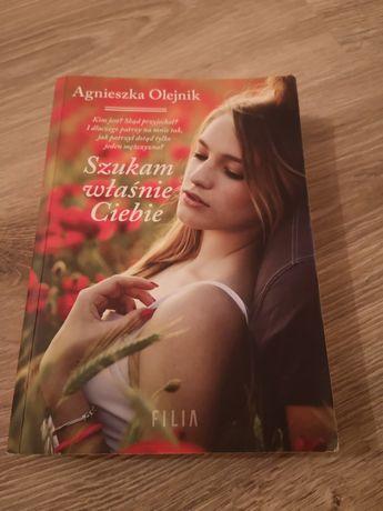 """Książka """"Szukam właśnie Ciebie"""" Agnieszka Olejnik"""