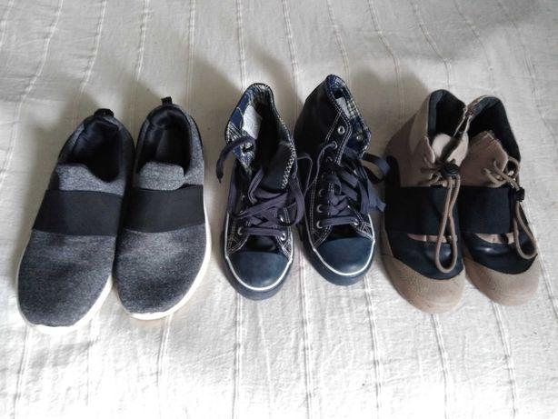 Buty chłopięce 37