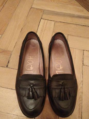 Продам кожаные туфли next на девочку