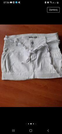 Spódnica spódniczka mini XS-S biała