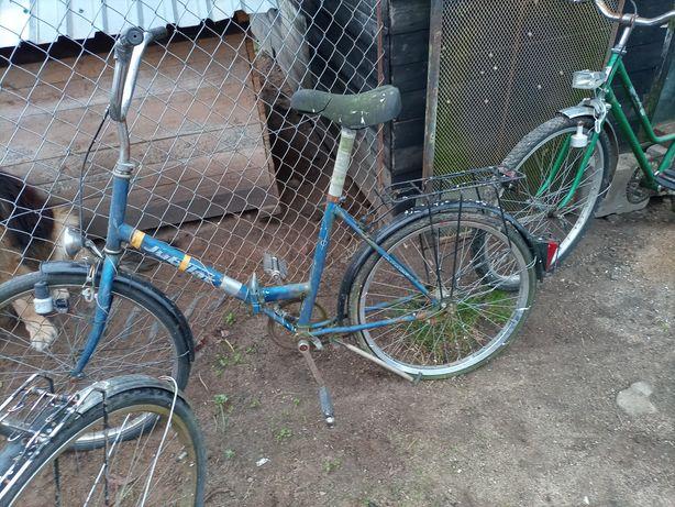Sprzedam rowery sztuk 3  do porobienia  napompowanie powietrza