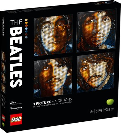 Lego Art The Beatles (Битлз) 31198