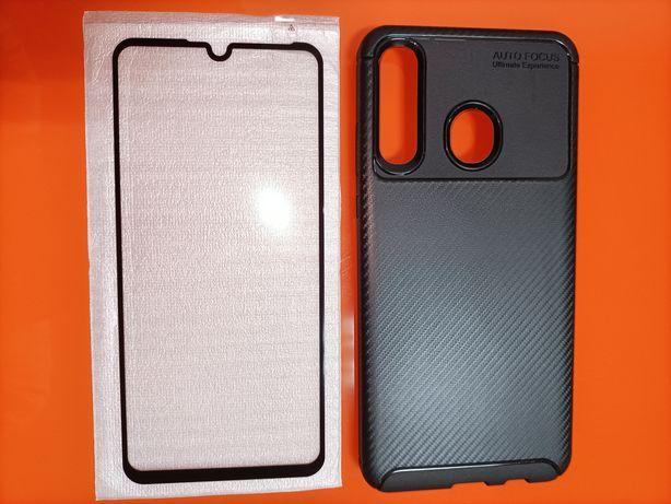 Capa + vidro temperado Huawei p30 lite