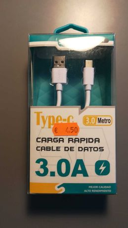 CABO USB-C 3m Novo