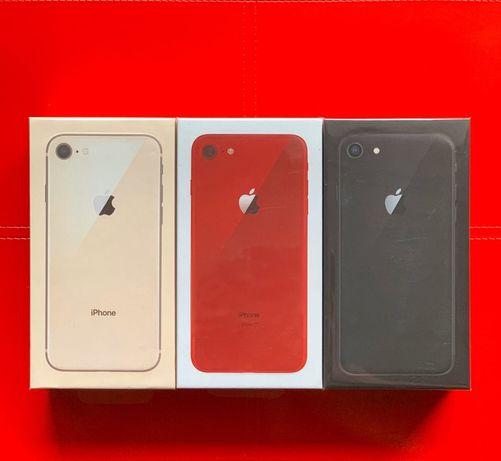 НОВЫЙ iPhone 7 8 7+ 8+ X XR XS Red Rose Gold Black Silver White Gray X