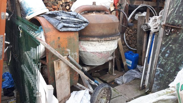 betoniarka 150 litr 380v stan bdobry i sprawna