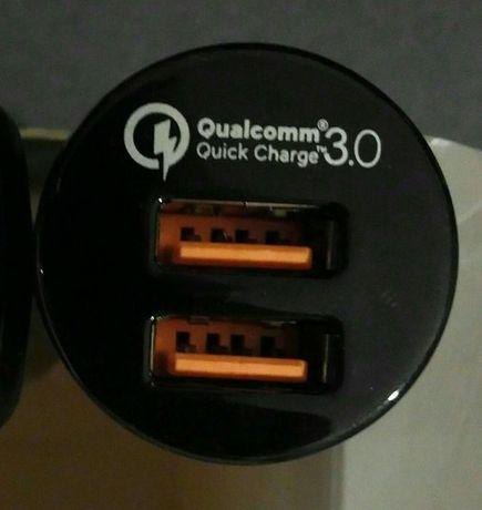 USB зарядка для авто прикуривателя Aukey CC-T8