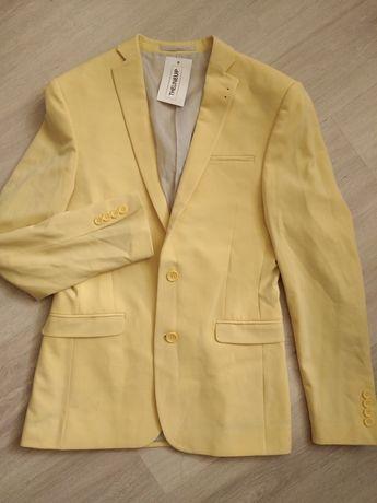 Asos мужской жёлтый классический пиджак сток из Америки