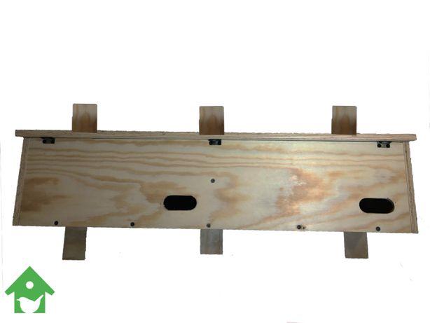 Budka lęgowa dla jerzyka - podwójna