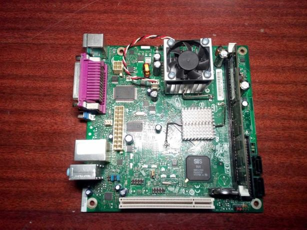 Материнская плата Mini-ITX Intel D201GLY2A + 1 Gb DDR2 Samsung