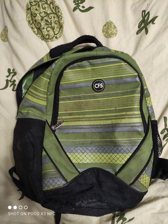 Зелёный рюкзак CFS
