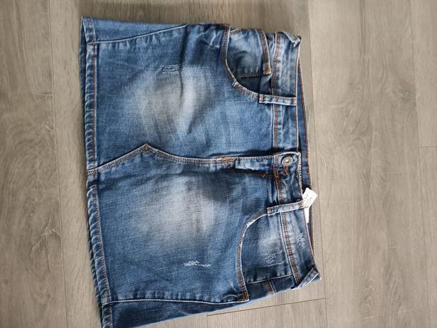 Spódniczka jeansowa mini, sklep Zara