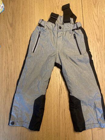 Spodnie narciarskie zimowe rozmiar 98