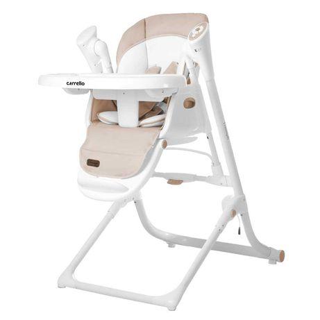 Стілець-гойдалка CARRELLO Triumph 3в1 стульчик,столик для кормления