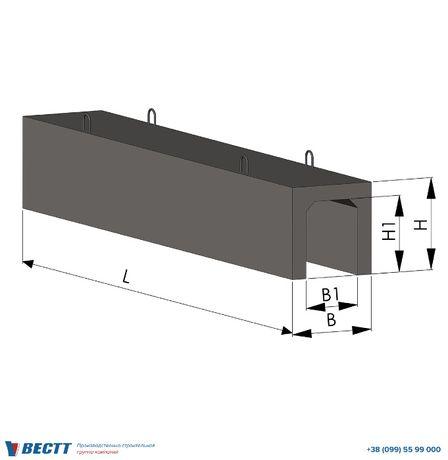 Лотки ЖБИ (593-770 кг)