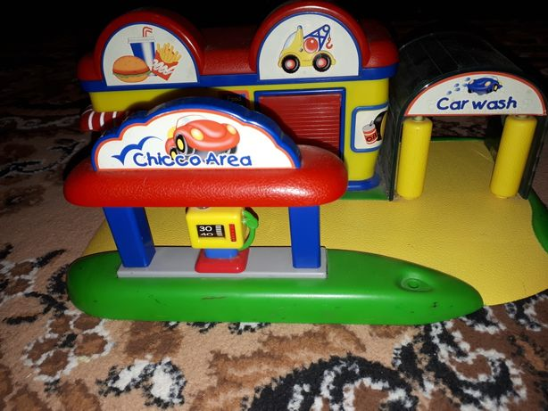 Іграшка гараж заправка мийка для машинок