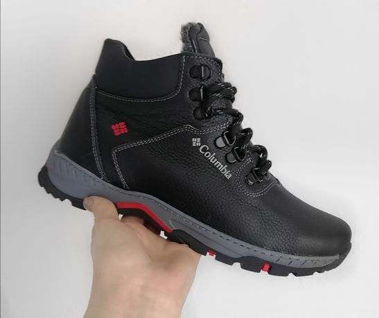 Ботинки кроссовки натуральная кожа Columbia 43, 44