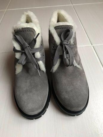 Зимние женские ботинки Prada.Оригинал!