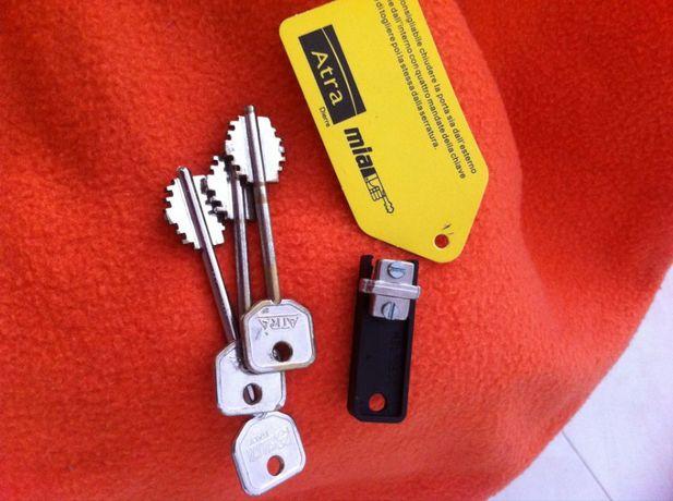 chave porta blindada Dierre