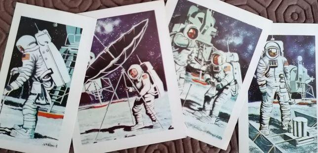 "Cromos ""Os Conquistadores do Universo"" 1982 e cartas SPACIX"